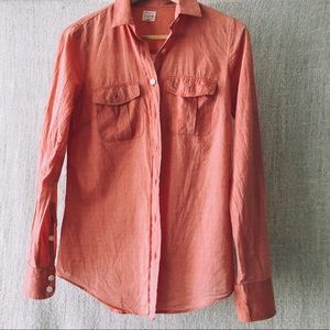 JCrew Perfect Button Up